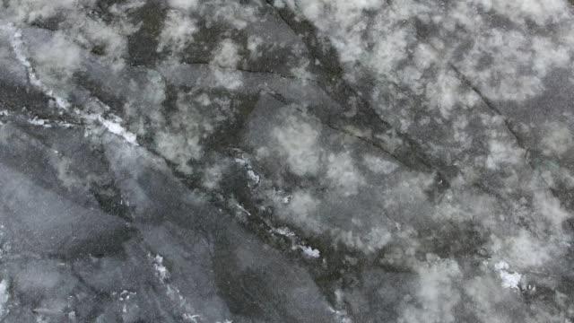 vídeos de stock, filmes e b-roll de ice patterns - padrão natural