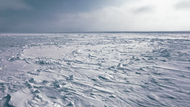 ice sheet on ocean - arctic stock videos & royalty-free footage