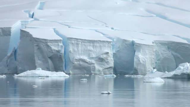 Ice shelf/glacier edge, Antarctica