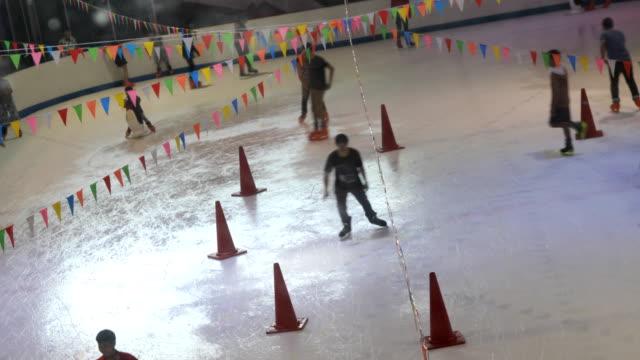 Ice Skate time lapse, Thailand