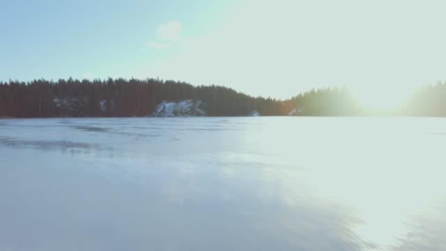 Ice skating lake