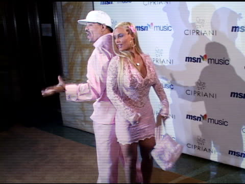 ice t and coco at the mariah carey record release party on april 21 2005 - mariah carey stock videos and b-roll footage