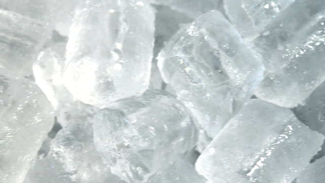 ice tube, dolly shot - ice cube stock videos & royalty-free footage
