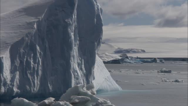 CU, PAN, Iceberg, Antarctica