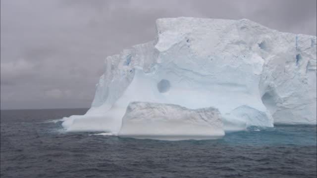 MS, TU, PAN, Iceberg, Antarctica