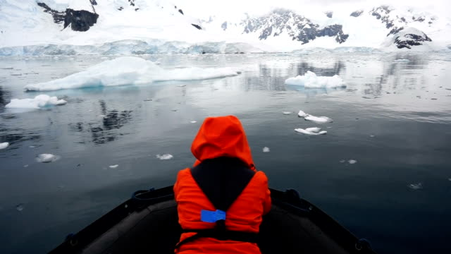 iceberg tour - south pole stock videos & royalty-free footage
