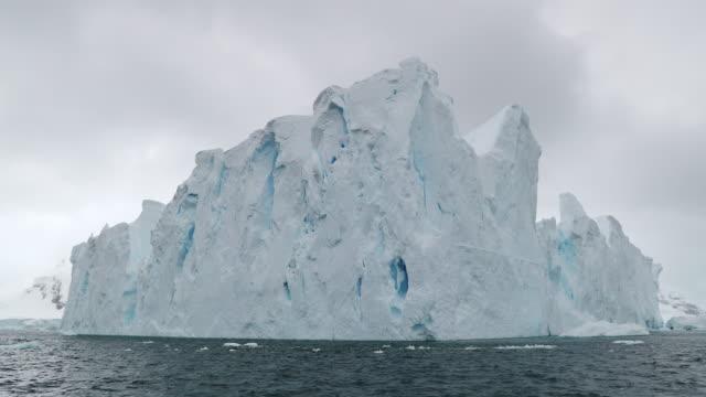 iceberg - antarctic peninsula stock videos & royalty-free footage