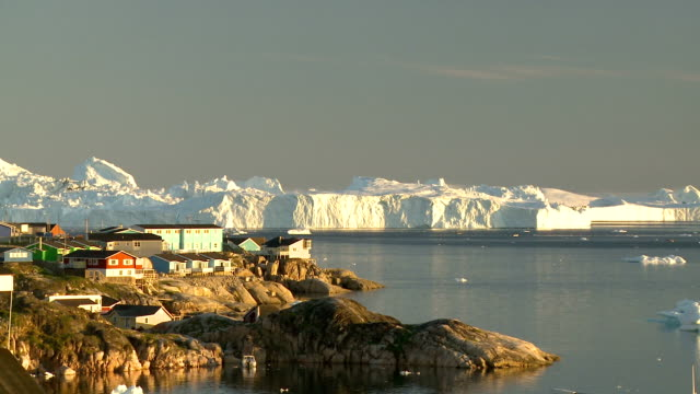 Icebergs in Disco bay