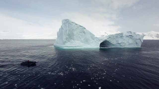 icebergs in the antarctic sound - antarctic ocean stock videos and b-roll footage