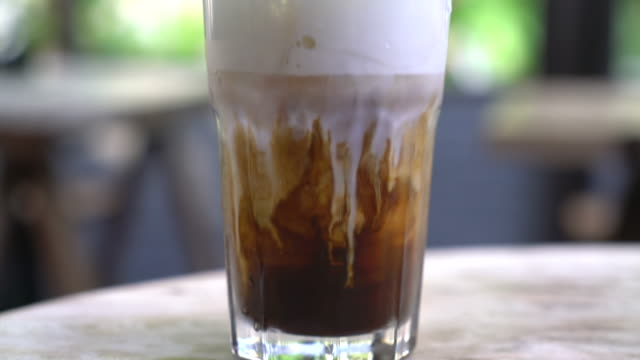 Iced cappuchino