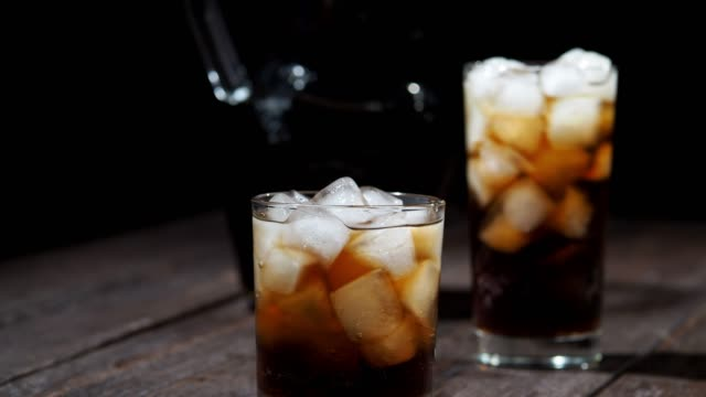 iced cola - jug stock videos & royalty-free footage
