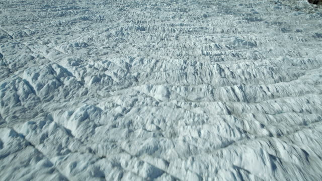 icefall from patagonian glacier - icefall stock videos and b-roll footage