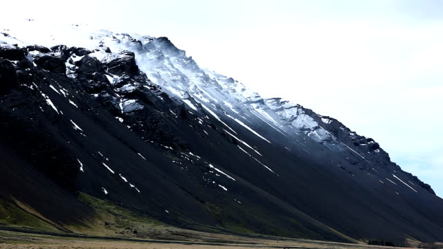 Iceland, amazing scenic view of the nature along this beautiful country
