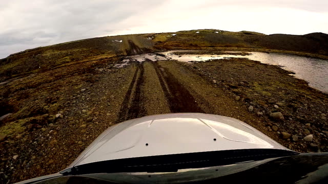 iceland, amazing scenic views from the car during a road trip - 4x4 stock videos and b-roll footage