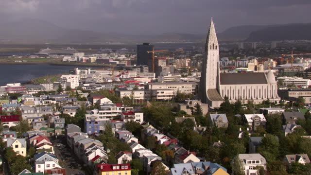 Iceland : Cathedral of Reykjavik, Hallgrímskirkja