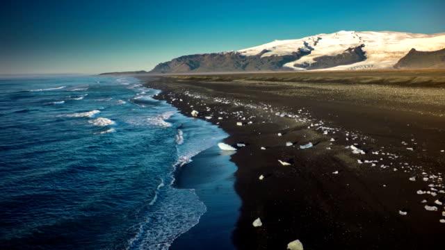 Island Küste-Jokulsarlon