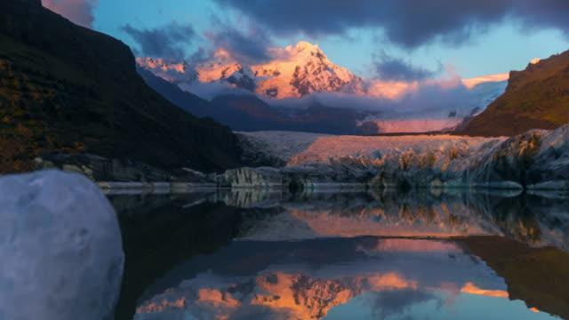 Iceland - Glacier Sunset Timelapse