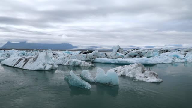 iceland jokulsarlon lagoon - ice floe stock videos & royalty-free footage