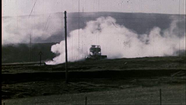 1950 - iceland - natural geothermal power - geyser stock videos and b-roll footage