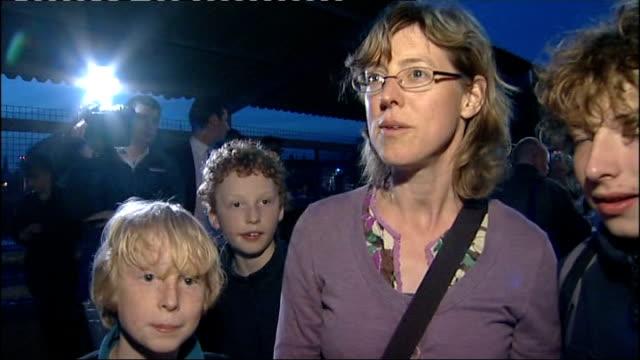 britons begin travelling home vox pop returning british traveller - iceland stock videos & royalty-free footage
