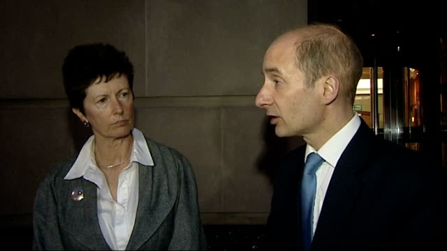 lord adonis statement lord adonis qa continued sot safety is our paramount concern public expect us to safeguard their safety in air that is what... - eurostar stock-videos und b-roll-filmmaterial