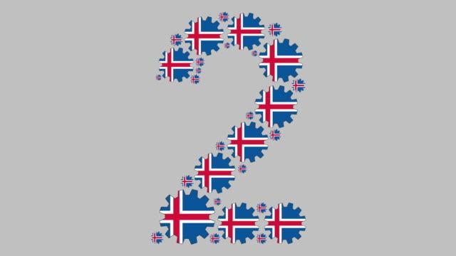 vídeos y material grabado en eventos de stock de el número dos islandés - menos de diez segundos