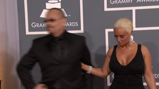 IceT at 54th Annual GRAMMY Awards Arrivals on 2/12/12 in Los Angeles CA