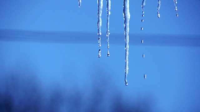icicle - icicle stock videos and b-roll footage