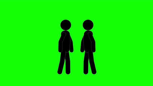 icon man challenge animation. character 2d figure cartoon animations. pictogram people unique silhouette vector icon set. animated poses on transparent background. moving activity variation - variation icon stock videos & royalty-free footage