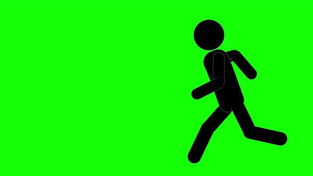 icon man entering animation. character 2d figure cartoon animations. pictogram people unique silhouette vector icon set. animated poses on transparent background. moving activity variation - catching stock videos & royalty-free footage