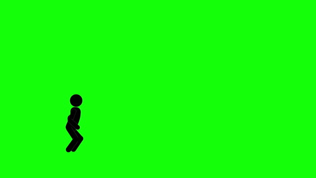 icon man figure climbing stairs animation. character 2d cartoon animations. pictogram people unique silhouette vector icon set. animated poses on transparent background. moving activity variation - variation icon stock videos & royalty-free footage