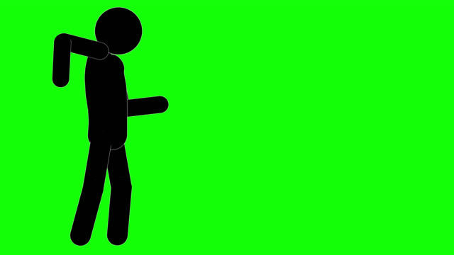 icon man positive animation. character 2d cartoon figure  animations. pictogram people unique silhouette vector icon set. animated poses on transparent background. moving activity variation - variation icon stock videos & royalty-free footage