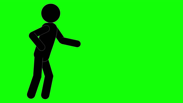 icon man talking animation. character 2d figure cartoon animations. pictogram people unique silhouette vector icon set. animated poses on transparent background. moving activity variation - variation icon stock videos & royalty-free footage