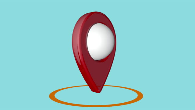 gps icon - direction stock videos & royalty-free footage