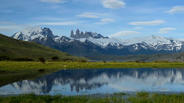 ikoniska torres i torres del paine - azul bildbanksvideor och videomaterial från bakom kulisserna