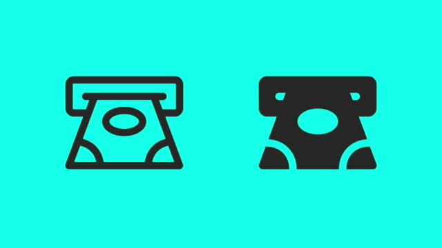 ATM Icons - Vector Animate