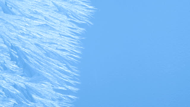 icy blue background - ice crystal stock videos and b-roll footage