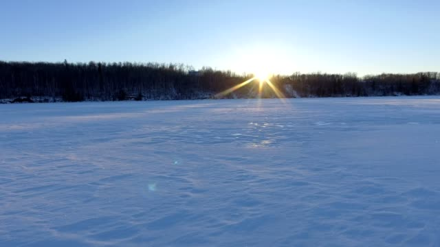 icy lake - frozen stock videos and b-roll footage