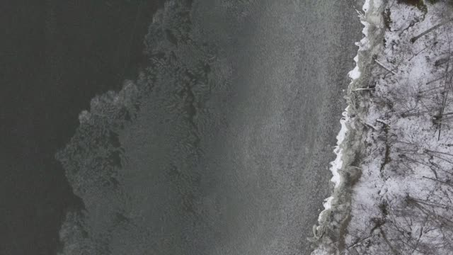 icy lakeshore - lakeshore stock videos and b-roll footage