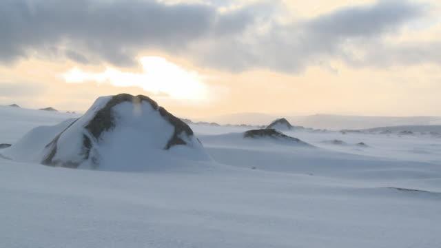 icy landscape, dartmoor, uk - dartmoor stock videos & royalty-free footage