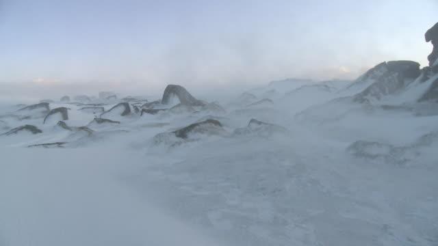 icy landscape, dartmoor with audio, uk - dartmoor stock videos & royalty-free footage