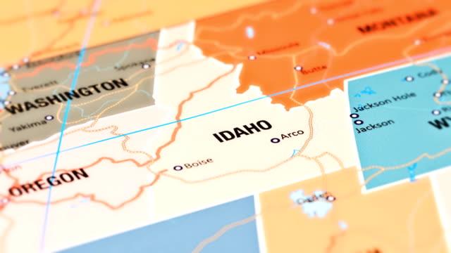 idaho from usa states - idaho stock videos & royalty-free footage