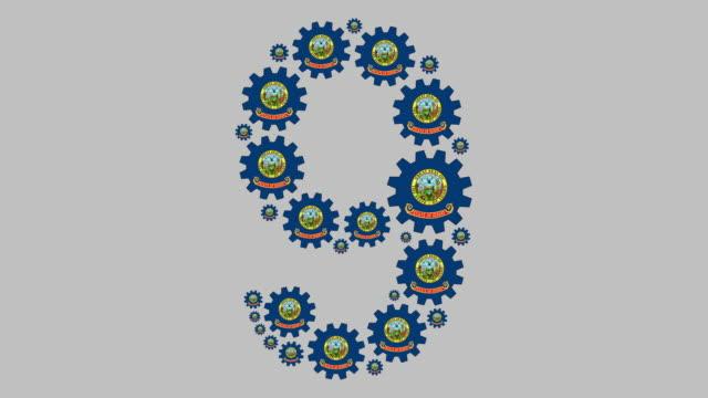 idaho nummer nio - nummer 9 bildbanksvideor och videomaterial från bakom kulisserna