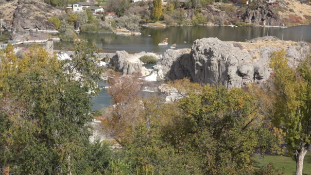 Idaho small fall at Shoshone Falls