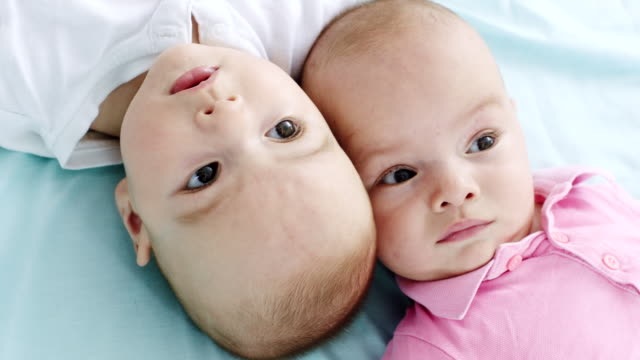 identical twins - identical twin stock videos & royalty-free footage