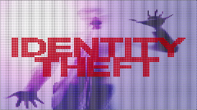 stockvideo's en b-roll-footage met identity theft - steel