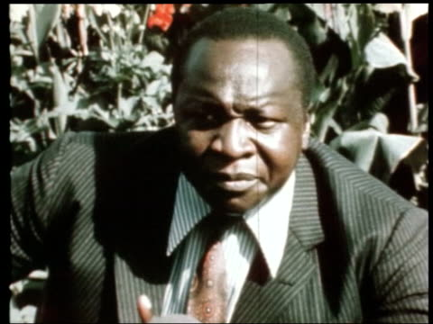 Idi Amin dies ITN Idi Amin interviewed SOT Immediately they hear of anybody making subersive activities they report that person straight to the police
