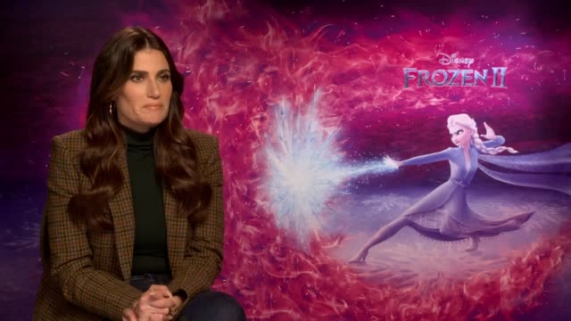 idina menzel talks about how she channels elsa in her life as frozen 2 prepares to hit the big screen plus interviews with fellow cast members josh... - frozen stock videos & royalty-free footage