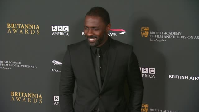 Idris Elba at 2013 BAFTA Los Angeles Jaguar Britannia Awards Presented By BBC America in Beverly Hills CA on