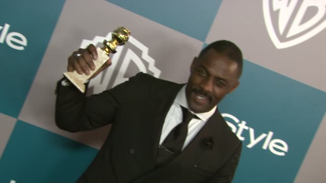 Idris Elba at the 13th Annual Warner Bros And InStyle Golden Globe AfterParty in Beverly Hills CA on 1/15/12